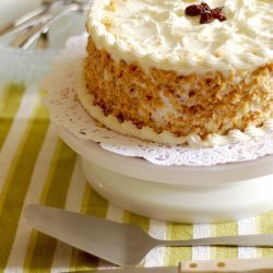 Carrot-Orange Cake with Cream Cheese Frosting