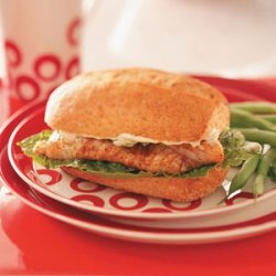 Cajun Catfish Sandwiches