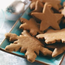 Crisp Gingerbread Cutouts