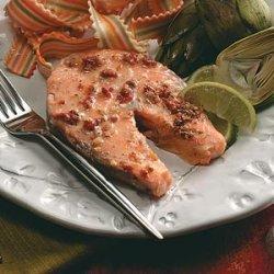 Baked Salmon Steaks