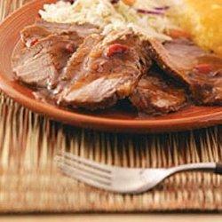 Tangy Tender Beef Brisket