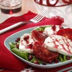 Blood Orange Caprese Salad