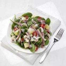 Hawaiian Spinach Salad