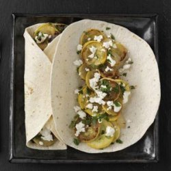 Squash Fajitas with Goat Cheese recipe