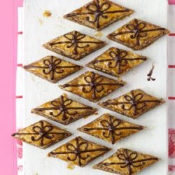 Chocolate-Drizzled Baklava