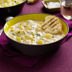 Quick Potato Corn Chowder