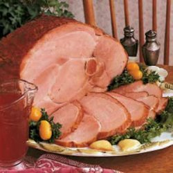 Baked Ham with Cumberland Sauce