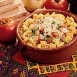 Festive Corn Bread Salad