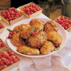Raspberry Vinegar Pork Chops