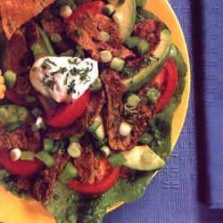 Beef Stir-Fry Salad Main Dish