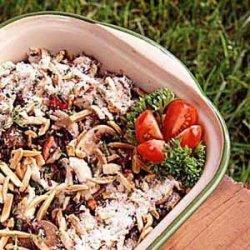 Chicken/Wild Rice Hot Dish