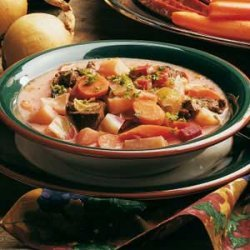 Russian-Style Vegetable Soup