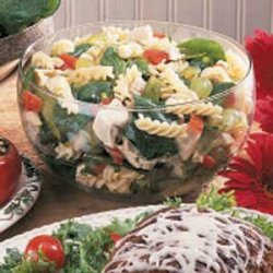 Chicken Spinach Pasta Salad