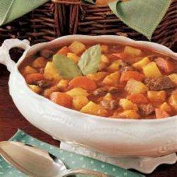 Autumn Vegetable Beef Stew