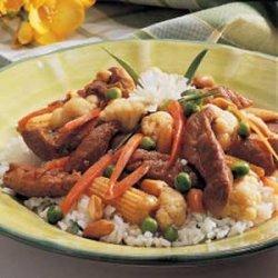 Pork Veggie Stir-Fry