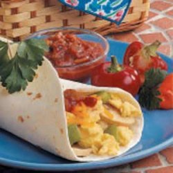 Suppertime Egg Burritos
