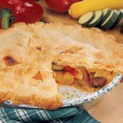 Farmer's Market Sausage Pie