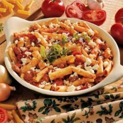 Greek Pasta Bake
