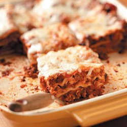 Aunt May's Lasagna