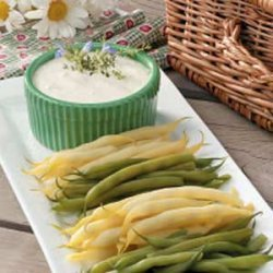 Picnic Beans with Dip