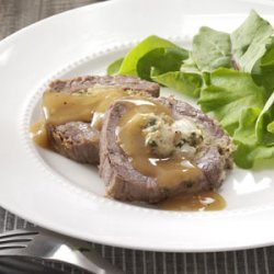 Slow Cooked Stuffed Flank Steak
