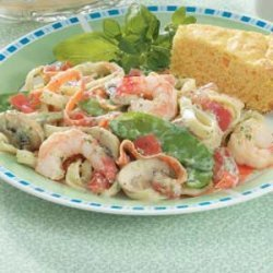 Shrimp Fettuccine