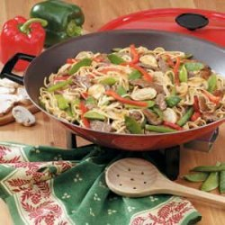 Peppery Beef Stir-Fry