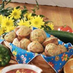 Spinach Corn Muffins