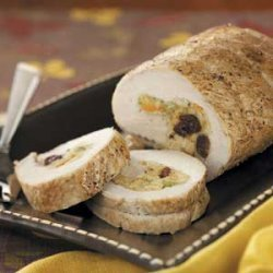 Cherry-Stuffed Pork Loin