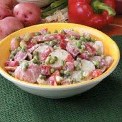 Potato 'N' Pea Salad