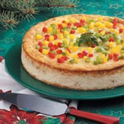 Crabmeat Appetizer Cheesecake