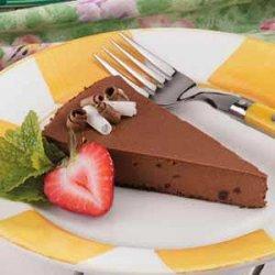 Light Chocolate Cheesecake