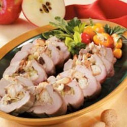 Apple-Stuffed Pork Tenderloin