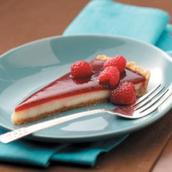 Raspberry Custard Tart recipe