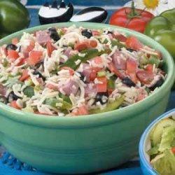 Healthy Italian Market Salad