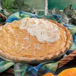 Butternut Cream Pie