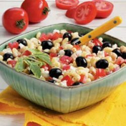 Greek Macaroni Salad