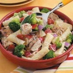Grilled Chicken Pasta Salad