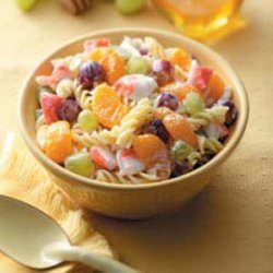Fruity Crab Pasta Salad
