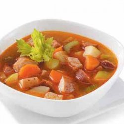 Vegetable Pork Soup