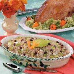 Brown Rice 'n' Apple Stuffed Turkey