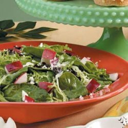 Mixed Greens and Apple Salad