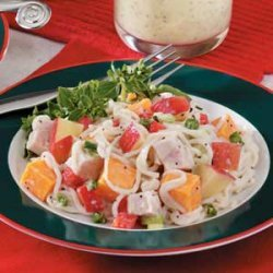 Cheddar-Apple Turkey Salad