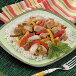 Chicken Pepper Stir-Fry