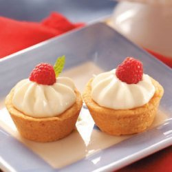 Cheese-Filled Shortbread Tartlets