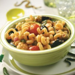Creepy-Crawly Pasta Salad
