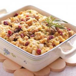 Cranberry Cornmeal Dressing