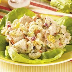 Garden Tuna Macaroni  Salad
