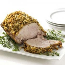Herb-Crusted Pork Roast