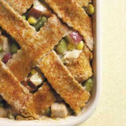 Lattice-Topped Turkey Casserole